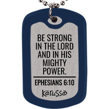 Load image into Gallery viewer, Faith Gear Power Dogtag Necklace