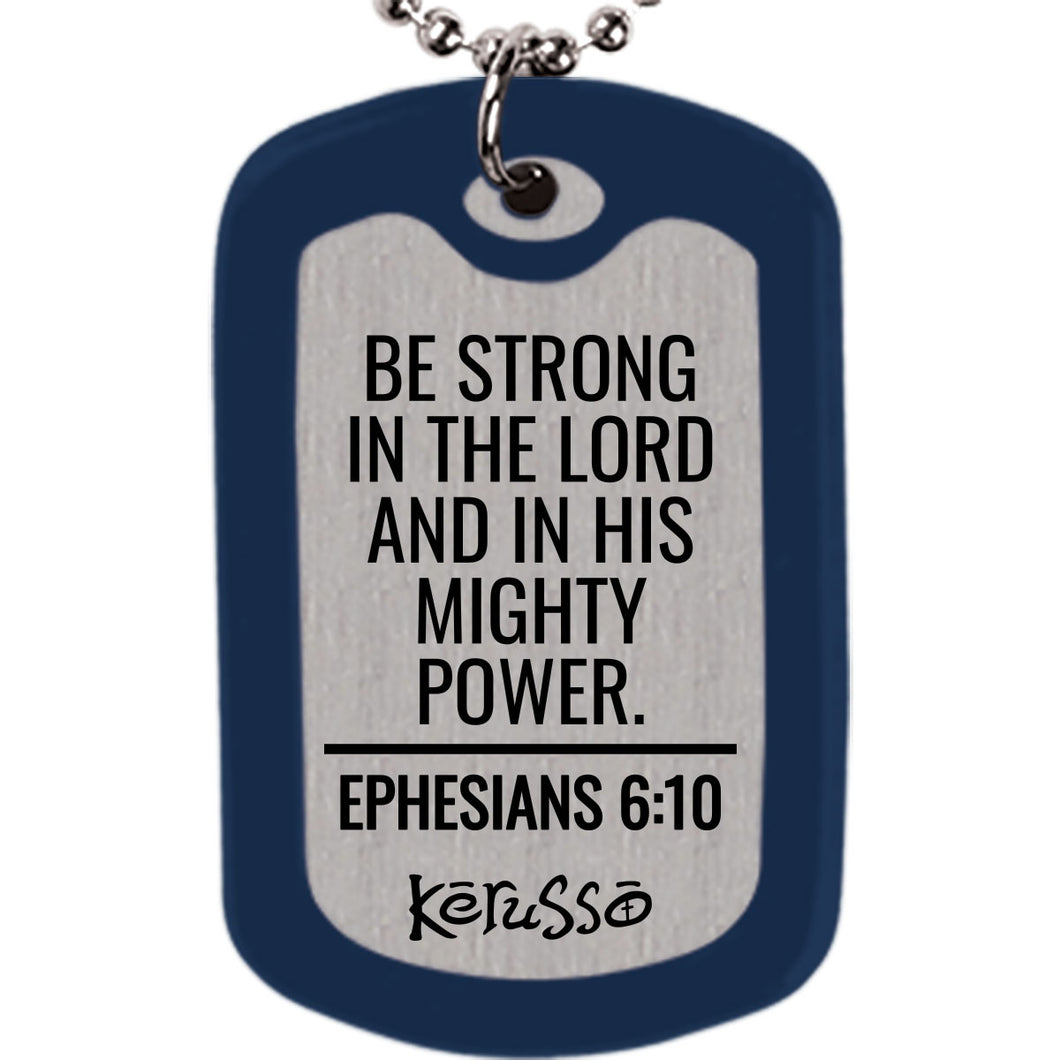 Faith Gear Power Dogtag Necklace