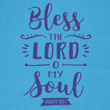 Load image into Gallery viewer, grace & truth Womens T-Shirt Bless The Lord