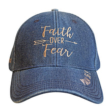 Load image into Gallery viewer, grace & truth Womens Cap Faith Over Fear