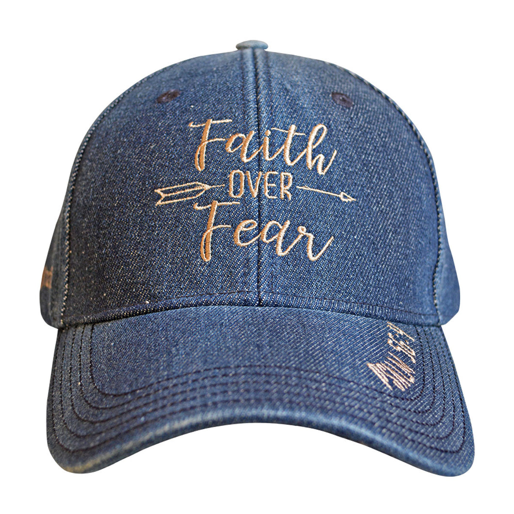 grace & truth Womens Cap Faith Over Fear