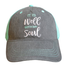 Load image into Gallery viewer, grace & truth Womens Cap It Is Well