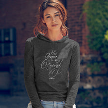 Load image into Gallery viewer, grace & truth Womens Hooded T-Shirt His Grace