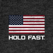 Load image into Gallery viewer, HOLD FAST Mens Zip Hooded Sweatshirt Hold Fast Flag