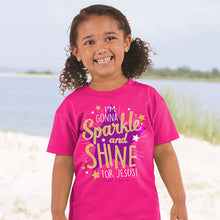 Load image into Gallery viewer, Kids T-Shirt Sparkle And Shine