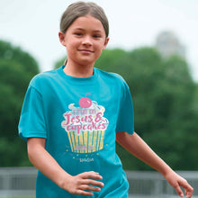 Load image into Gallery viewer, Kids T-Shirt Cupcake