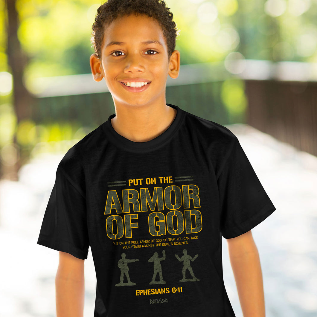 Kids T-Shirt Armor Men