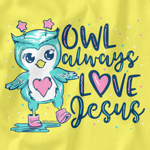 Load image into Gallery viewer, Baby T-Shirt Baby Owl