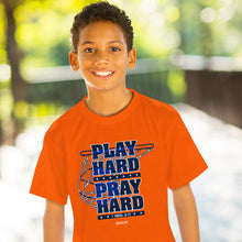 Load image into Gallery viewer, Kids T-Shirt Play Hard Hoops