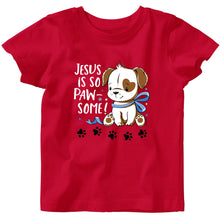 Load image into Gallery viewer, Baby T-Shirt Paw-some