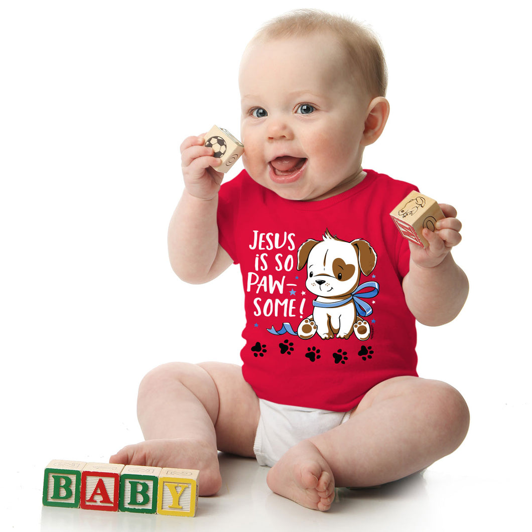 Baby T-Shirt Paw-some