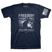 Load image into Gallery viewer, HOLD FAST Mens T-Shirt Freedom Wasn't Free