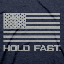 Load image into Gallery viewer, Hold Fast Mens T-Shirt In God We Trust Shield