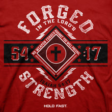 Load image into Gallery viewer, Hold Fast Mens T-Shirt Forged Strength