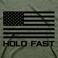 Load image into Gallery viewer, Hold Fast Mens T-Shirt Fear Not Flag