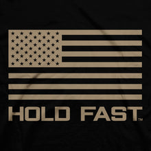 Load image into Gallery viewer, Hold Fast Mens T-Shirt We Raise Heroes