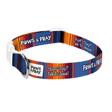 Load image into Gallery viewer, Paws & Pray Ruff Day Pet Collar