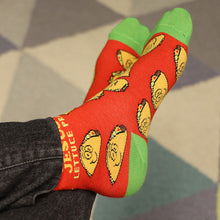 Load image into Gallery viewer, Socks Wanna Taco