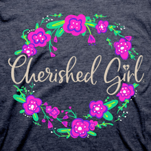 Load image into Gallery viewer, Cherished Girl Womens T-Shirt Be Kind Floral