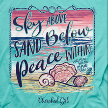 Load image into Gallery viewer, Cherished Girl Womens T-Shirt Sky Above