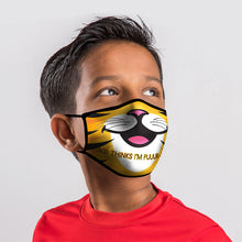Load image into Gallery viewer, Youth Face Mask Tiger