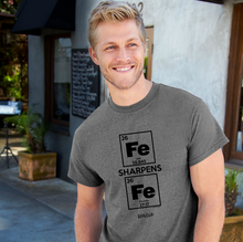 Load image into Gallery viewer, Christian T-Shirt Iron Sharpens Iron