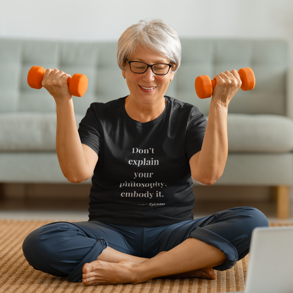 TrudieAF Stoic Unisex T-Shirt - My Self-Care Mart