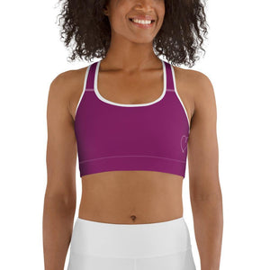 Trudie_AF Sports Bra-Fuchsia - My Self-Care Mart