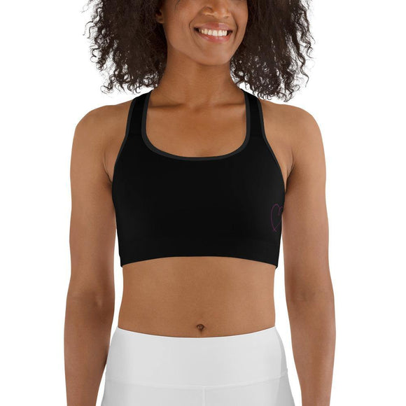 Trudie_AF Sports Bra-Black - My Self-Care Mart