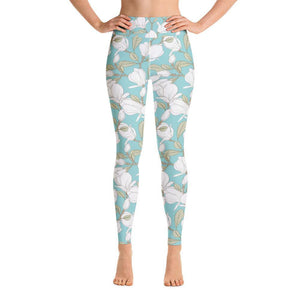 Amal Blossoms Yoga Tights - My Self-Care Mart
