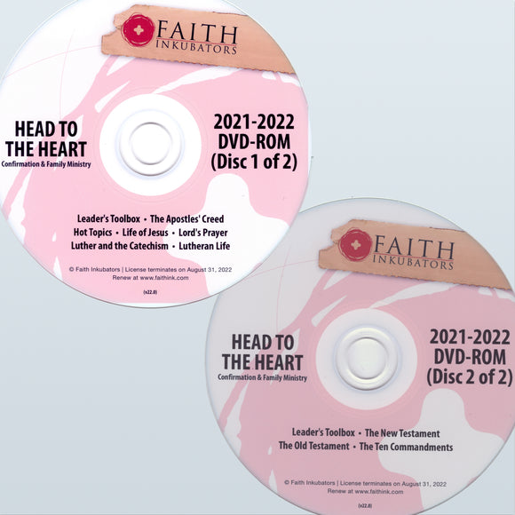 Head to the Heart Curriculum Discs for 2021-2022 (Optional Add-On)