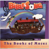 The Books of Moses CD (Songs from Genesis to Deuteronomy)