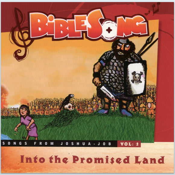 Into the Promised Land CD (Songs from Joshua to Job)