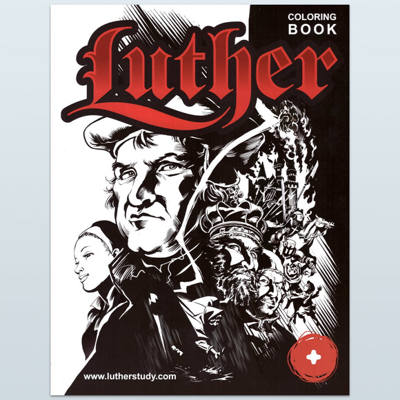 Luther: The Coloring Book