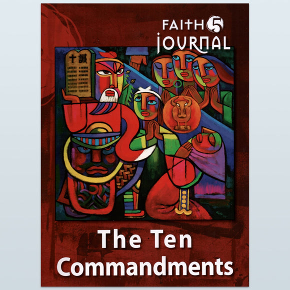 The Ten Commandments Journal (Head to the Heart)