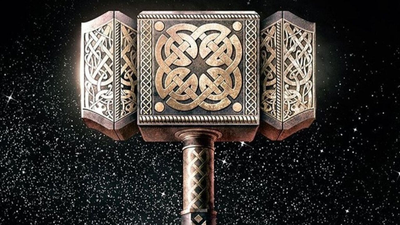The creation of  the Mighty Mjölnir, Thor's Hammer