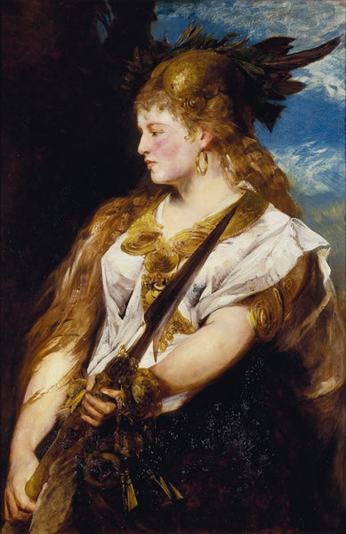 The Valkyrie, by Hans Makart, 1877.