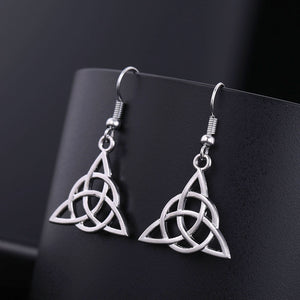 Triquetra Stainless Steel Earring