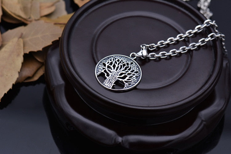 Ygdrasil, The Tree of Life Necklace - 925 Sliver