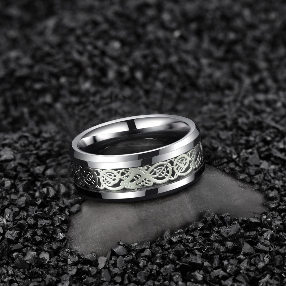 Jörmungandr Tungsten Carbide Ring