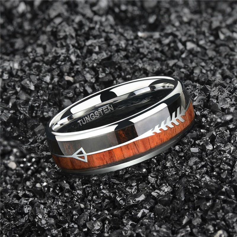 Ullr Tungsten Wedding Ring - Wedding Band