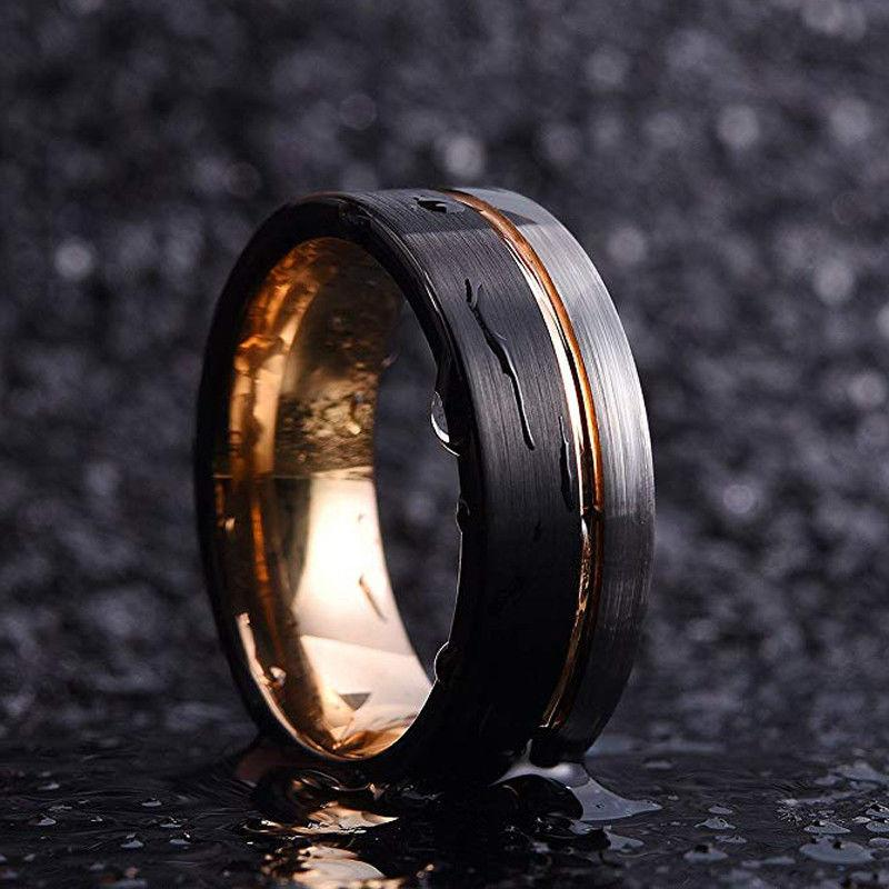 Frigg's Wedding Band - Tungsten Carbide Ring
