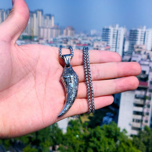 Jörmungandr's Fang Stainless Steel Necklace