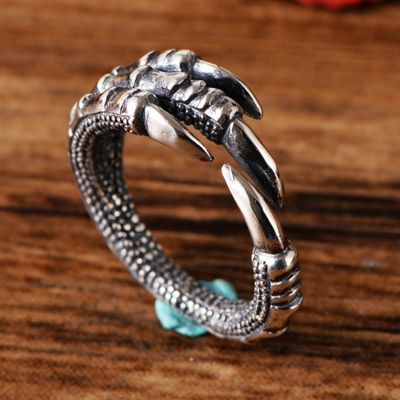Jörmungandr Claws Handmade 925 Sterling Silver Ring