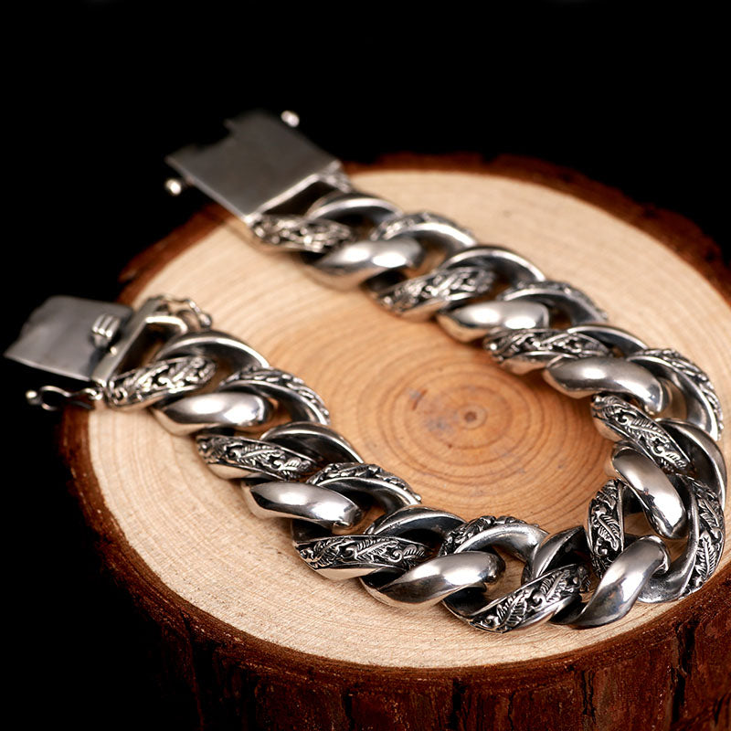 Chains of Wyrd 925 Sterling Silver Bracelet