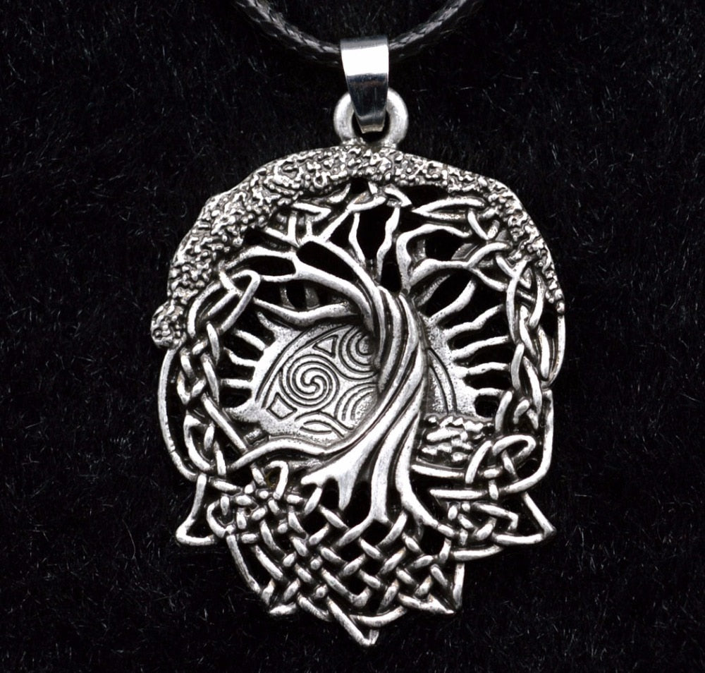 Ygdrasil, The Tree of Life - Stainless Steel Necklace
