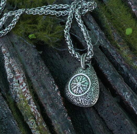 Vegvisir - That which shows the Way - Rune Necklace