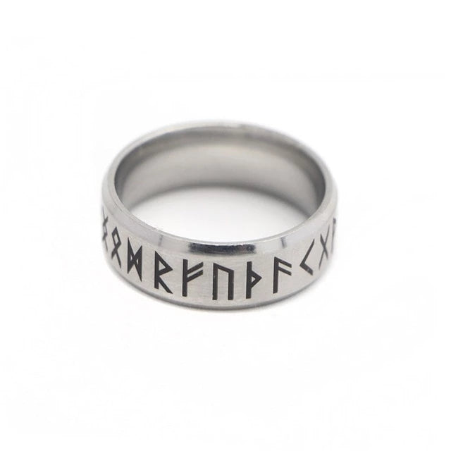 Viking Rune Ring - Stainless Steel