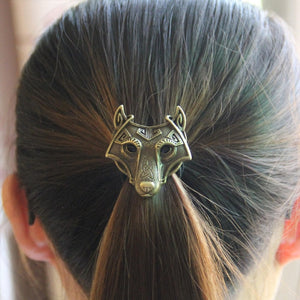 Fenrir head elastic hair band