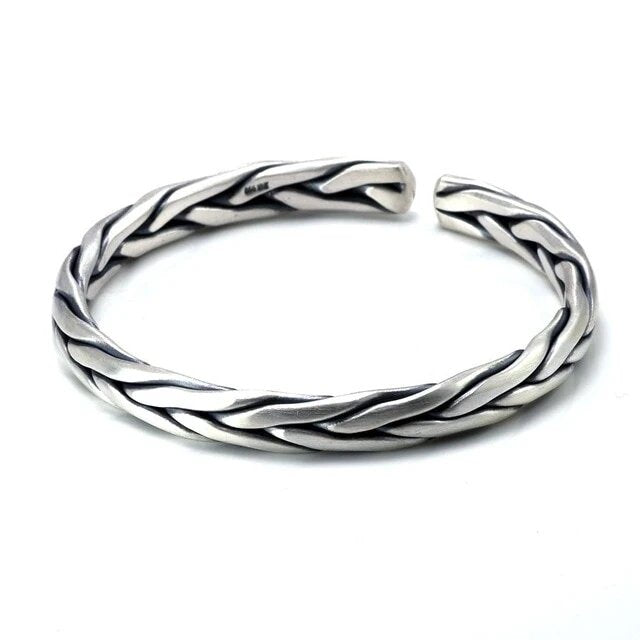 Gleipnir Arm Ring 925 Sterling Silver Bangle